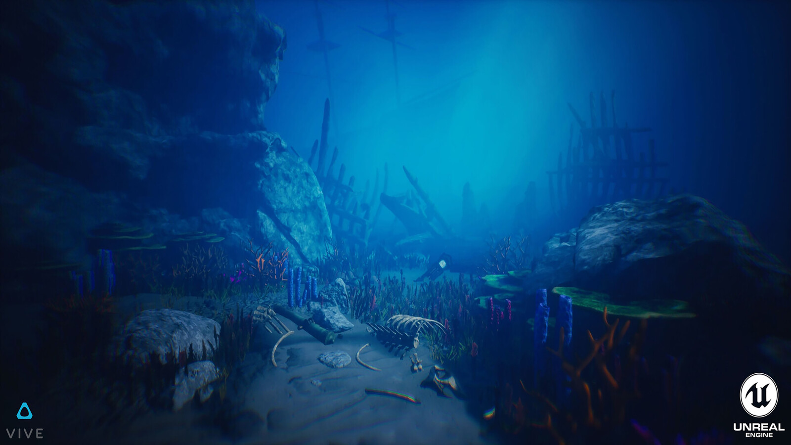Search for the Gryphon (VR - UE4)