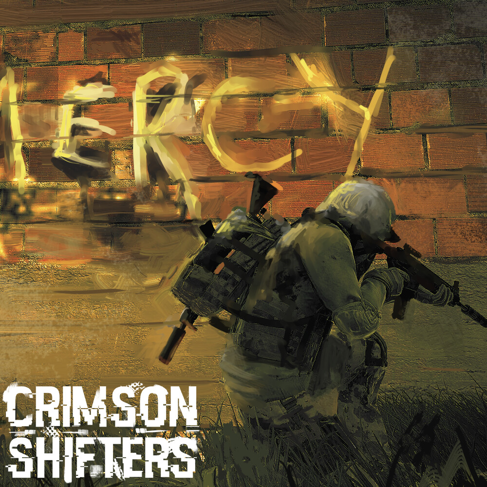(No) Mercy - Crimson Shifters Key Art