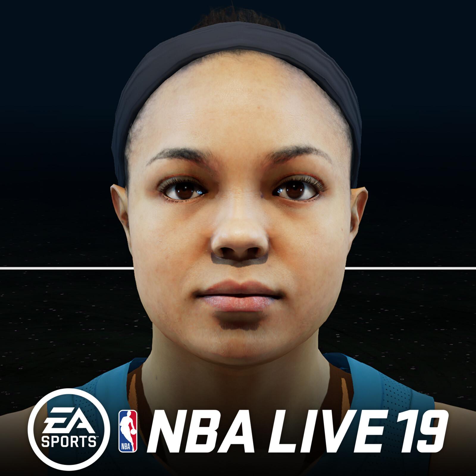 NBA LIVE 19 - Napheesa Collier