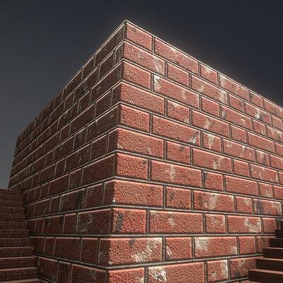 Dennis haupt 3dhaupt texture old bricks 1 texture set 44 created in blender 2 82 1