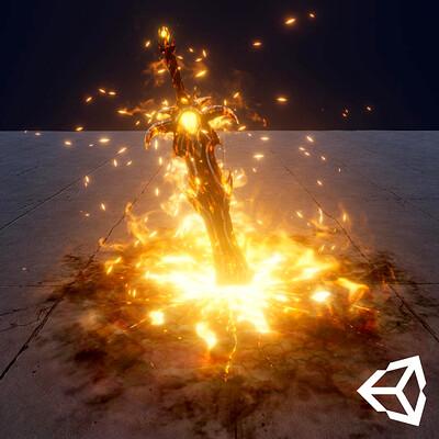 Vladyslav horobets artstationfire