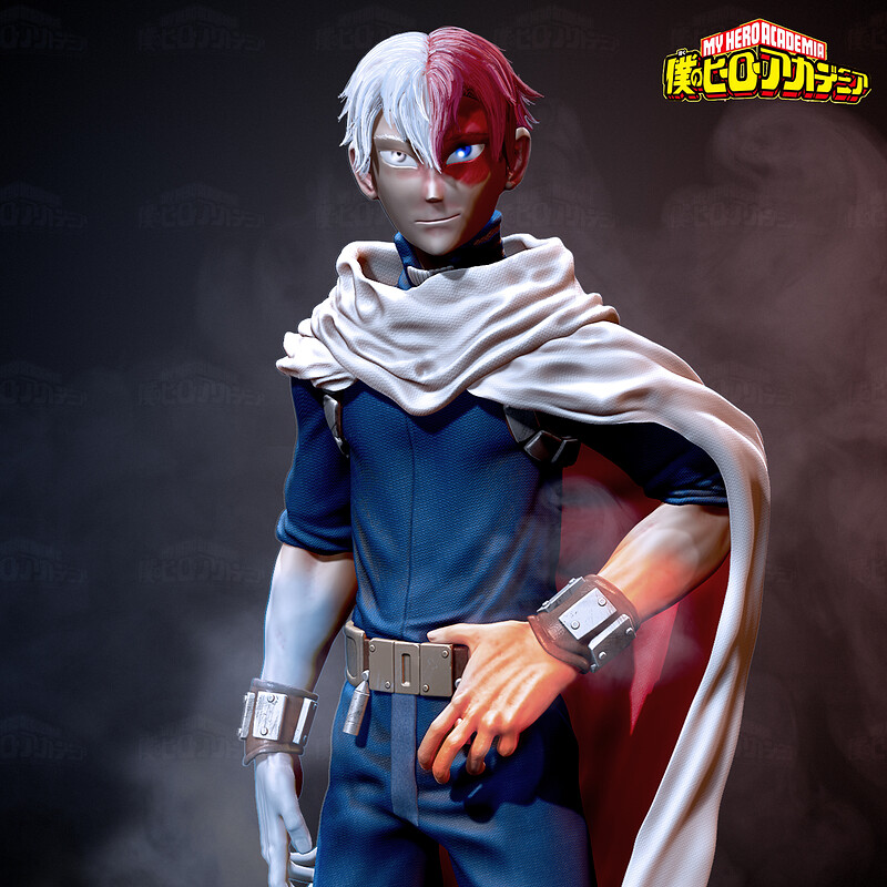 Shoto Todoroki - Ice and Fire