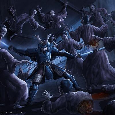 Daniel acosta zombies y samurais g
