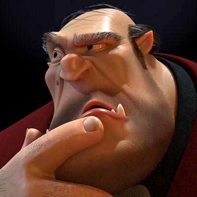 Pietro bernardi theprofessor closeup