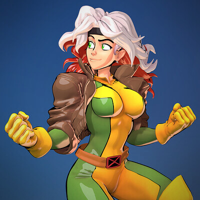 Rogue - Real-Time Fanart