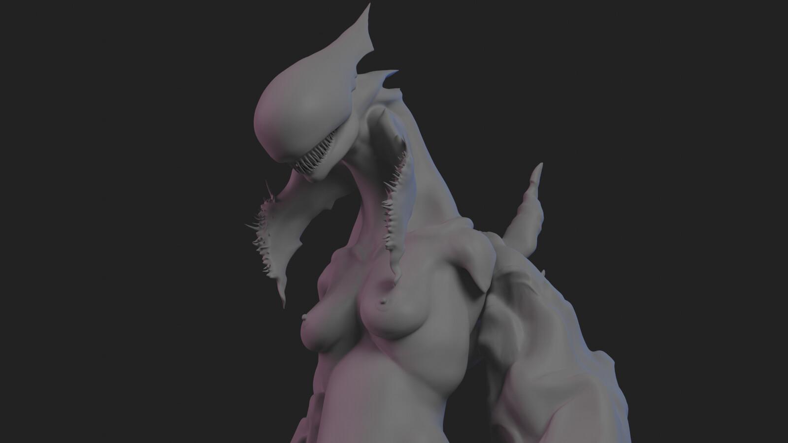 Smokey Finger - 3D Sculpt