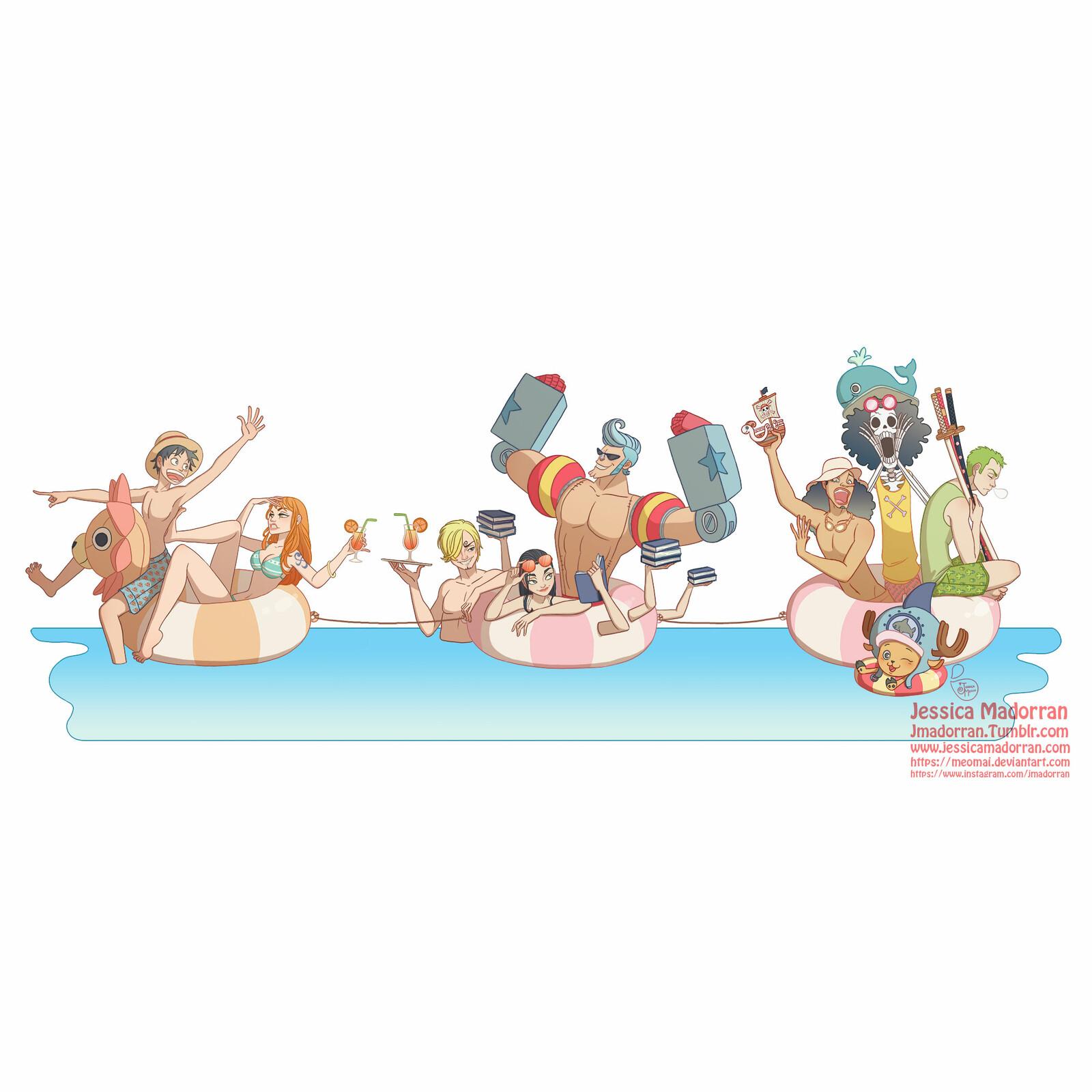 Fan Art  - One Piece Summer