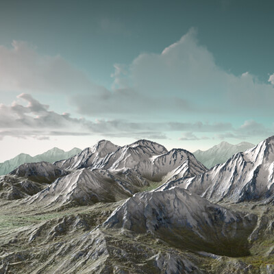 Christopher miller christopher miller terrain tests distant mnt