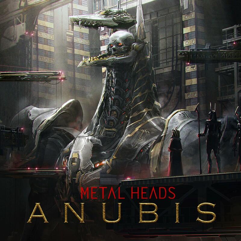 METAL HEADS : Anubis