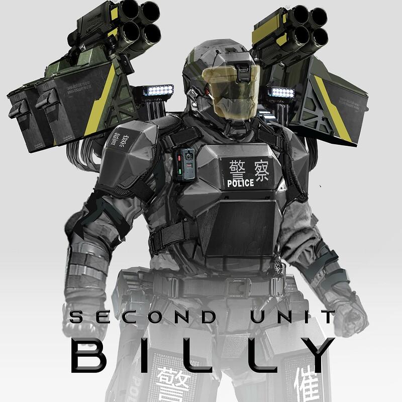 BILLY: Authoritarian Riot Gear