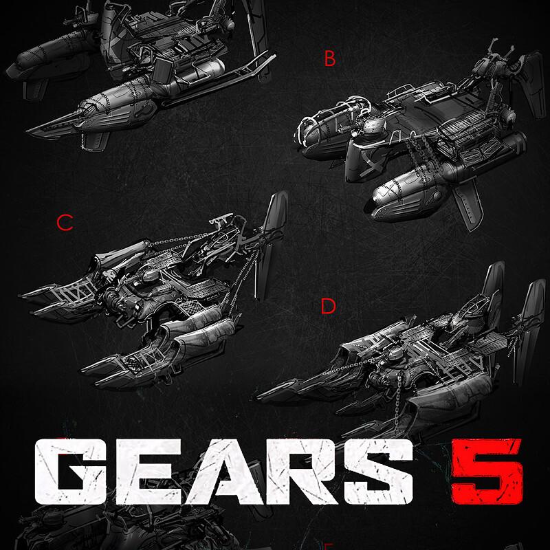 GEARS 5 : Skiff Concept Art