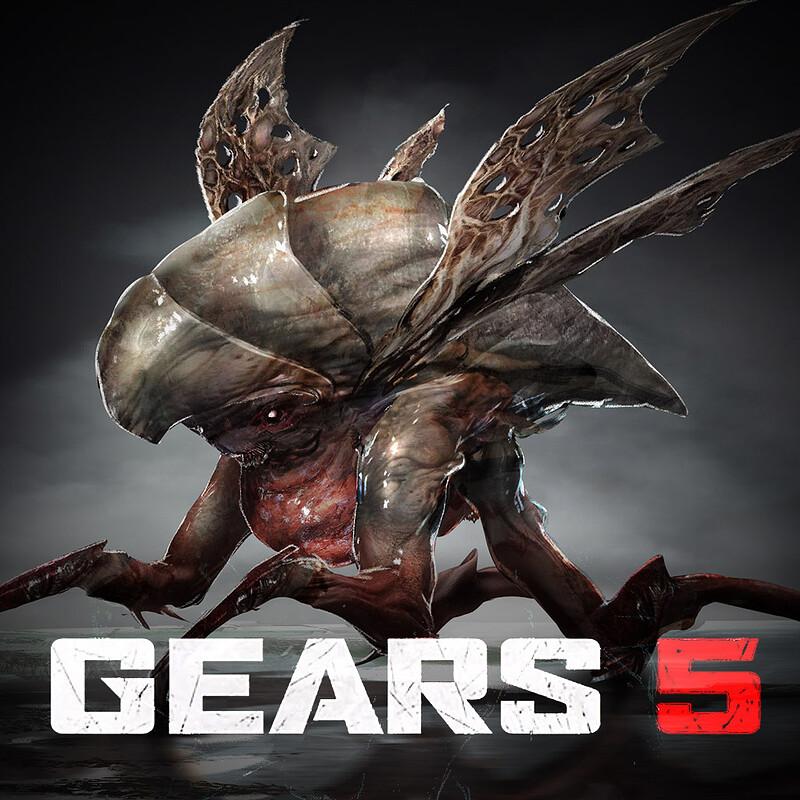 GEARS: 5 - Infected Deebee and Swarm Leech Concept art