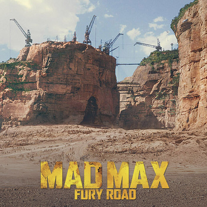 Mad Max Fury Road DMP | Citadel view plus matte paint reel