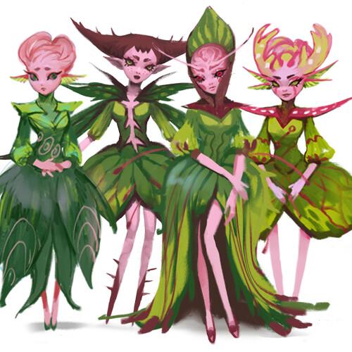 Floral Fairies 3