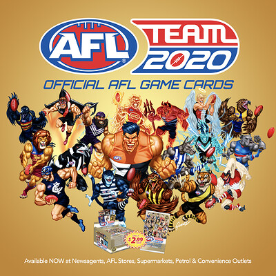 AFL TeamCoach 2020 3D ICON Cards