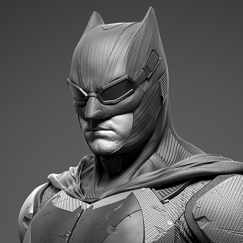 Tactical Batman - Justice League - Prime 1 - Renders