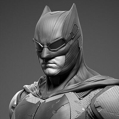 Tactical Batman - Justice League - Prime 1 - Renders