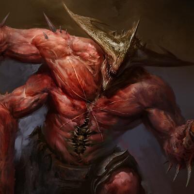 Antonio j manzanedo infernal beast manzanedo detail