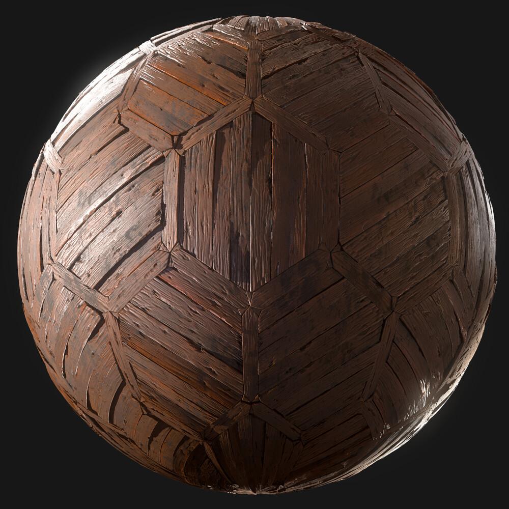 Hexagon Wood Flooring