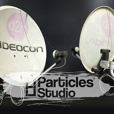 D2h satellite dish