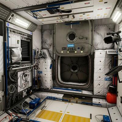 [UE4] ISS Columbus