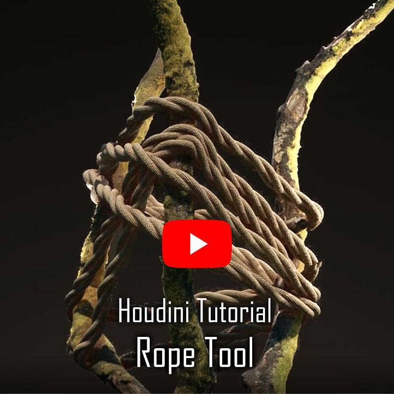 Rope Tool - Houdini Tutorial