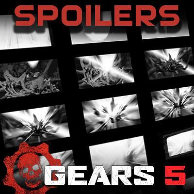 [ENDING SPOILERS] Gears of War 5 Cinematic Storyboards: Bittersweet Victory