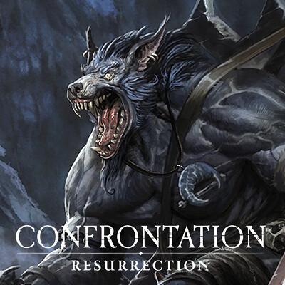 Loic muzy loic muzy confrontation resurrection 1 illustration lm
