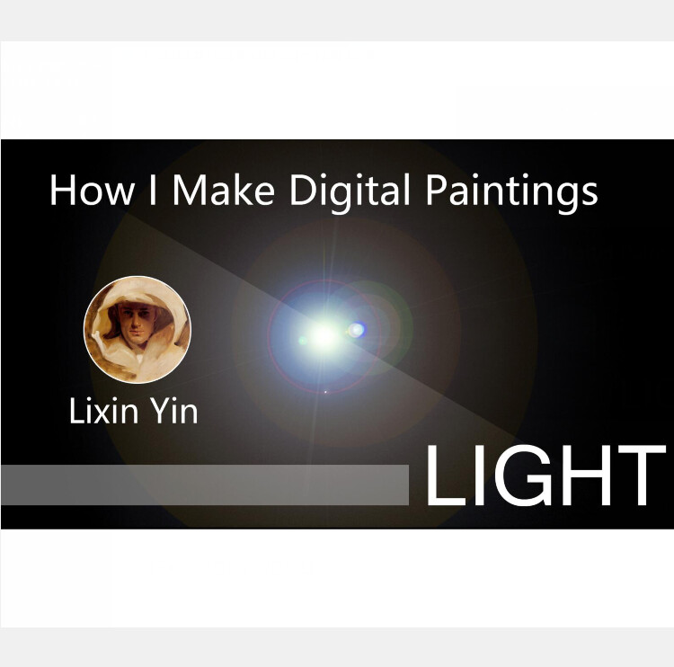 How I Make Digital Paintings | Light - part 1
