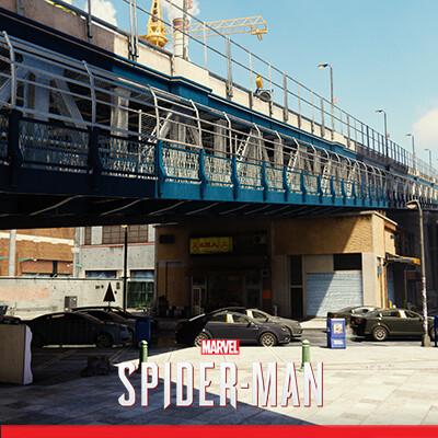 Spider-Man PS4: Chinatown Areas