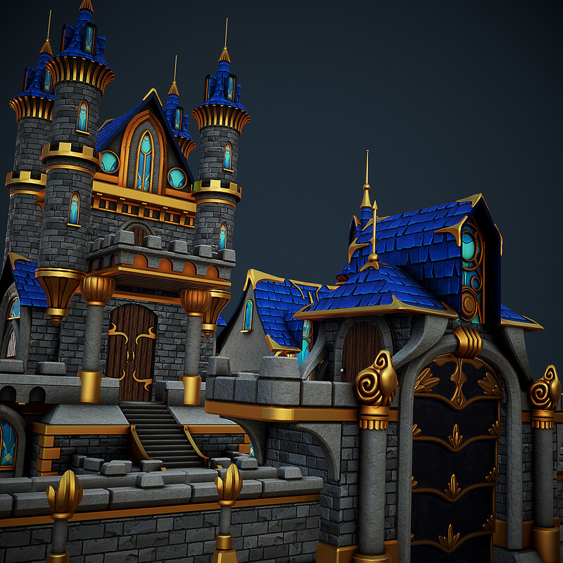 IGG UA Castle Buildings