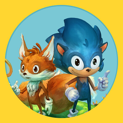 John thacker sonic and tails thumbnail