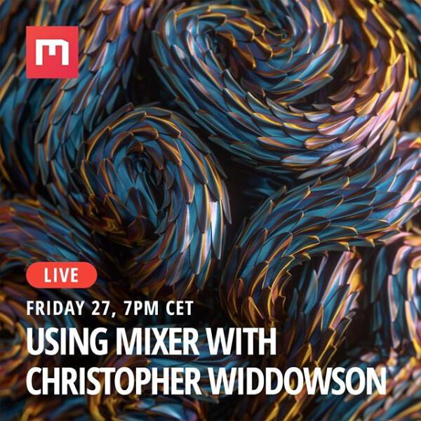 Using Mixer With Chris Widdowson - Livestream