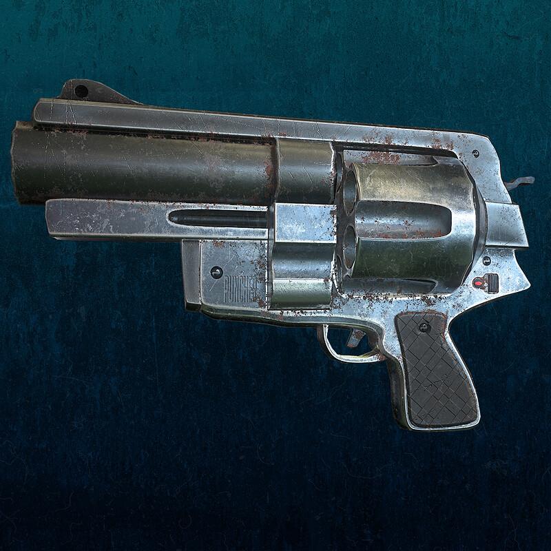 Revolver - Game model -at  Lethal Art Studio