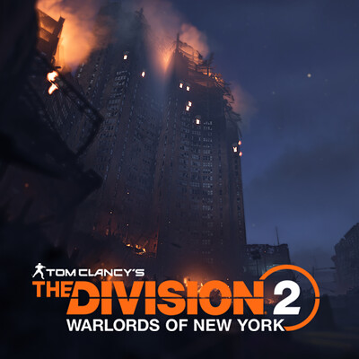 The Division 2: Burning Confucius Plaza