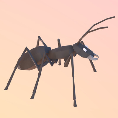 Eric quesada ant done in vr with gravity sketch