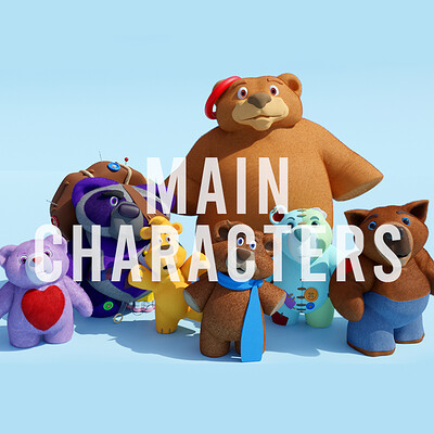 Patrick doyle title card maincharacters
