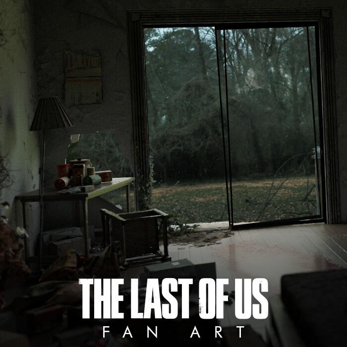 The Last of Us Fan Art, Bedroom