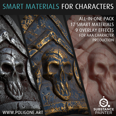 Smart Material Collection for Character Creation