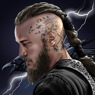 Vassilis dimitros vikings ragnar lothbrok