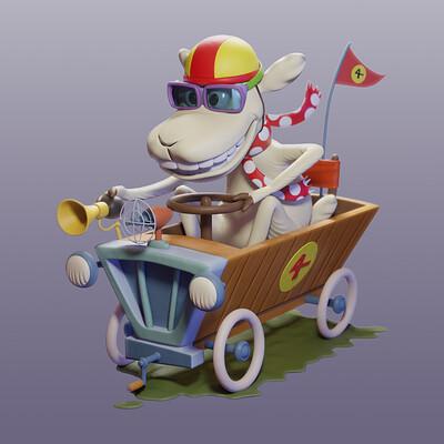 Robert schlunze racing sheep 006
