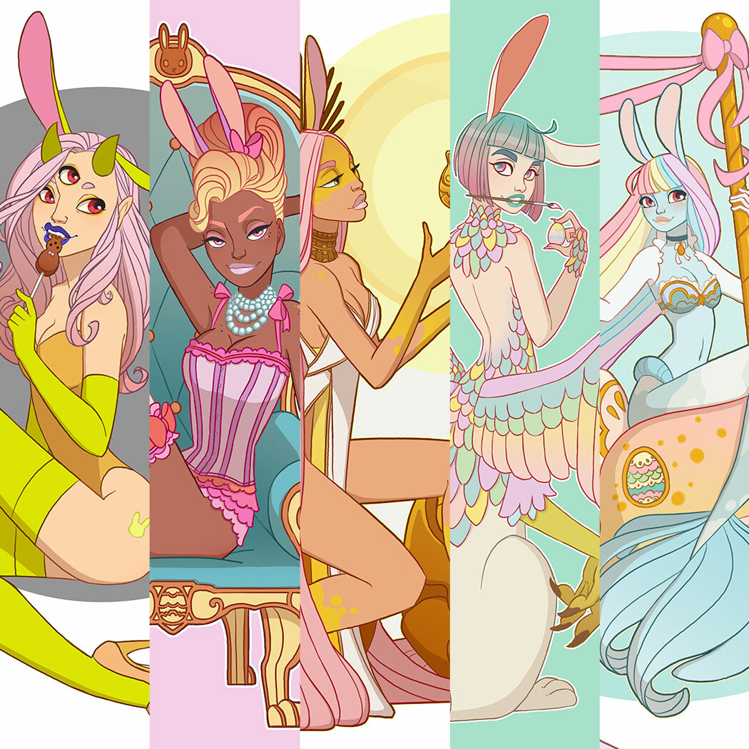 Easter Bunny 2020 Themed  Designs