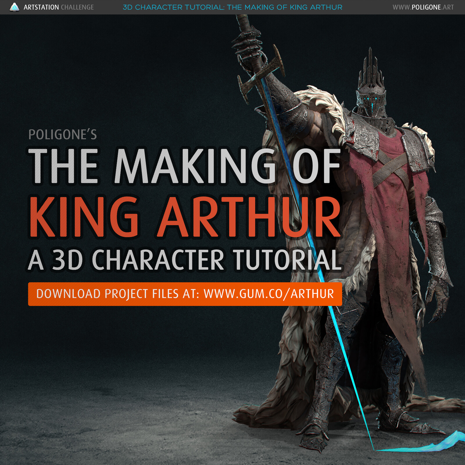 The Making of King Arthur - A 3D Character Tutorial