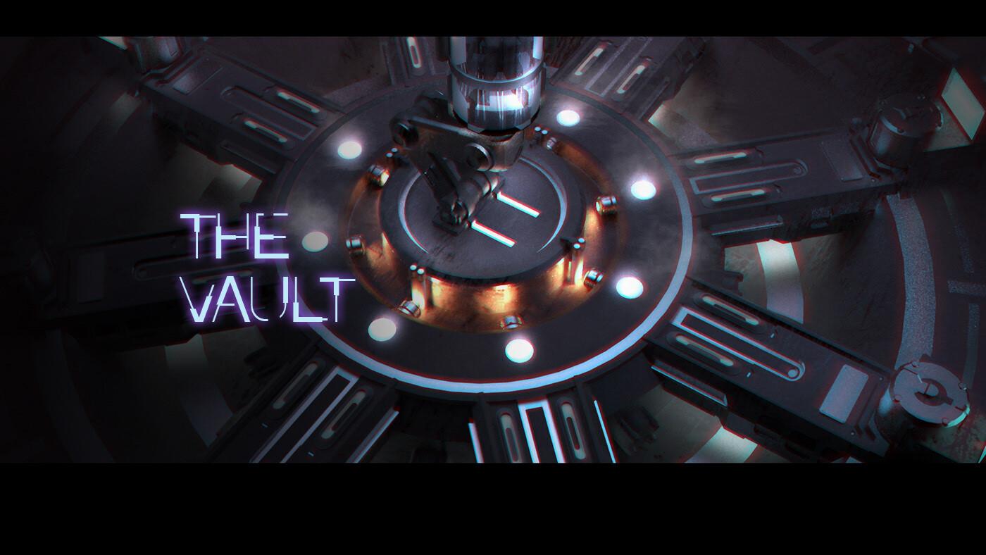 The Vault - sci-fi room experiment