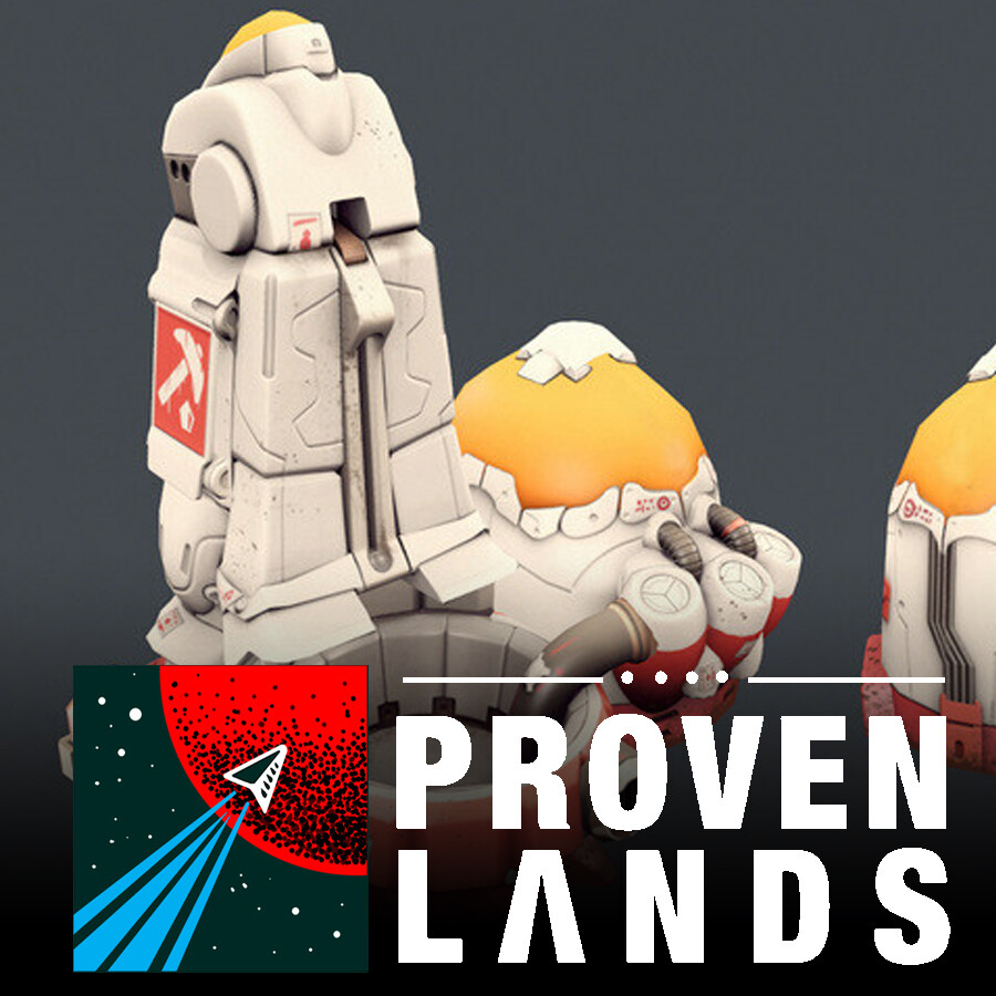 Proven Lands (2015 - Cancelled) - Robots & Buildings