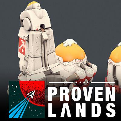 Proven Lands (2015 - Cancelled) - Robots & Buildings