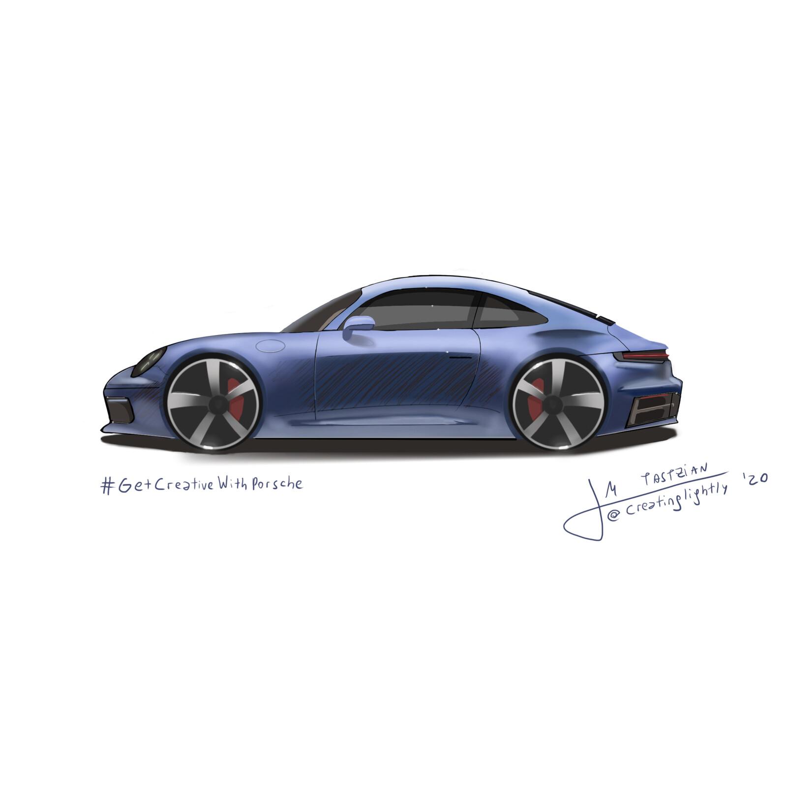 #GetCreativeWithPorsche - Porsche 911