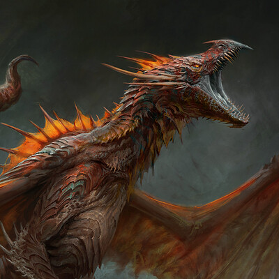 Antonio j manzanedo dragon roar manzanedo detail 3