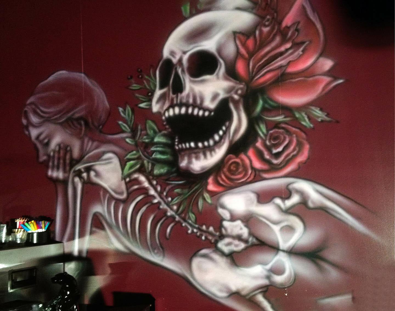 Artstation Mural Painting Kris Bergthorson Design Projects Kb Design Projects Kris Bergthorson