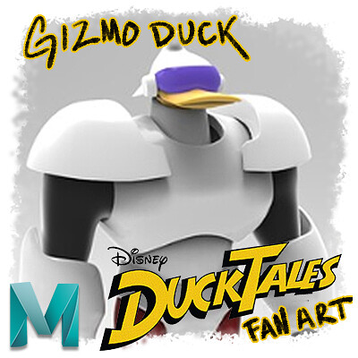 Gizmoduck Model from Disney's DuckTales